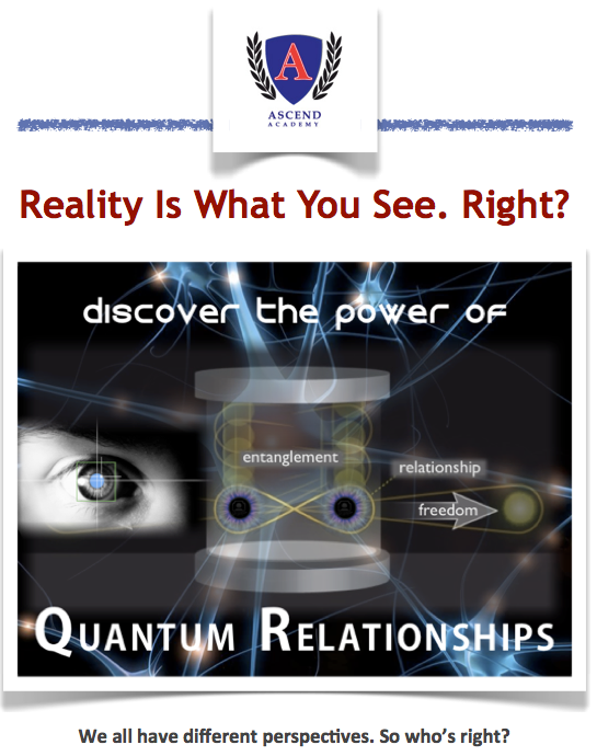 Reality is What you See